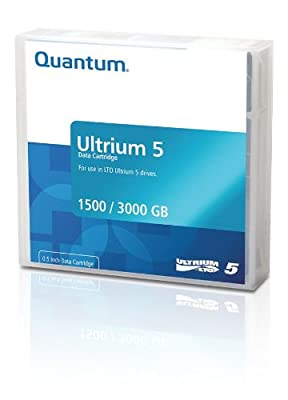 Quantum MR-L5MQN-01 LTO Ultrium 5 1.5/3.0TB Data Cartridge (Brick Red) by QUANTUM CHEMICAL - CINCINNATI