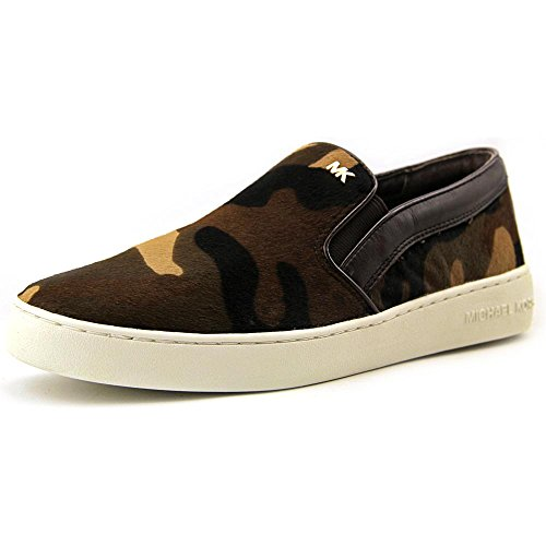 MICHAEL Michael Kors Women's Keaton Slip On Sneakers, Duffle, 10 B(M) US