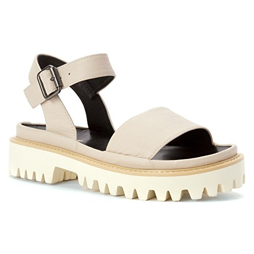 ALL BLACK Womens Lugg Band Sandal Sandals Ivory