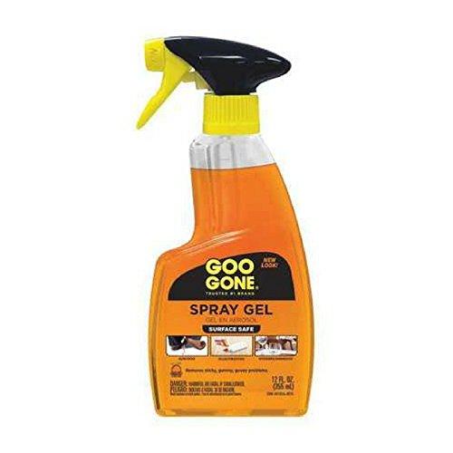 Goo Gone Remover Spray Gel, 12 oz (1)
