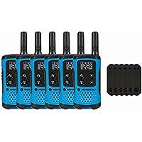 Motorola T100 Two-Way Radios / Walkie Talkies 6-PACK