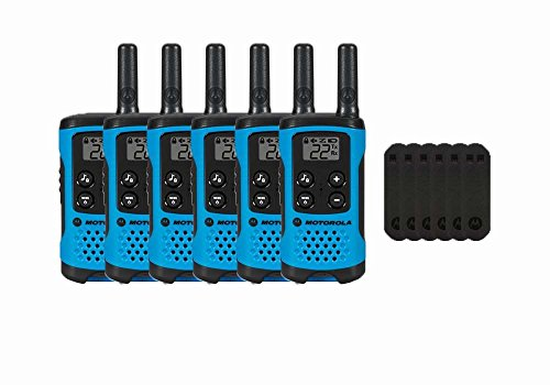 Motorola T100 Two-Way Radios / Walkie Talkies 6-PACK