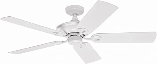 Ventilador de techo para exterior IPX3 Hunter 50557 MARIBEL blanco ...