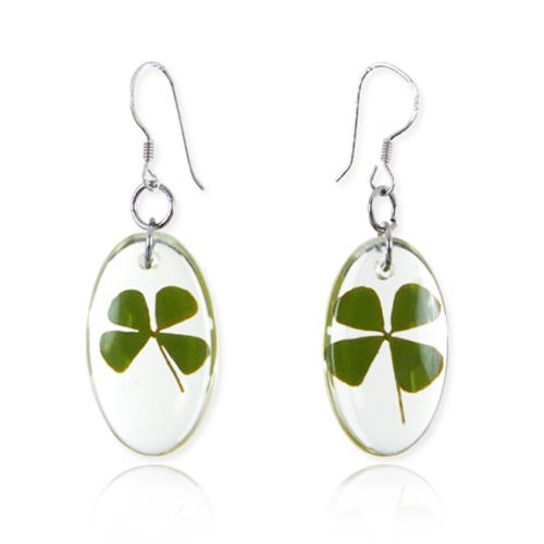 925 Sterling Silver Real Irish Four (4)  - Shamrock Four Leaf Clover Shopping Results