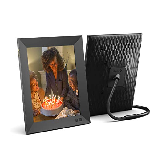 Nixplay 2K Smart Digital Photo Frame 9.7 Inch - Share Moments Instantly via App or E-Mail
