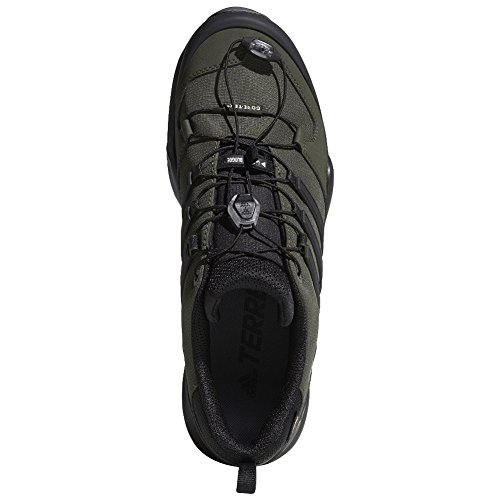 adidas outdoor Terrex Swift R2 GTX Mens Hiking Boot Night Cargo/Black/Base Green, Size 6 by adidas outdoor (Image #2)