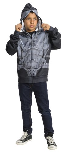 Zod Man Of Steel Costume (Rubies Man of Steel General Zod Hoodie, Small)