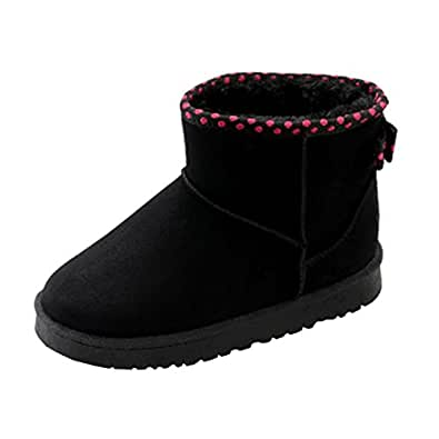 Amazon.com | Gillberry Women Ankle Boots Fur Lined Winter