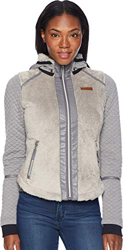 Obermeyer 17035 Women's Stella Fleece Jacket, Cashmere - Large (Cashmere Track Jacket)