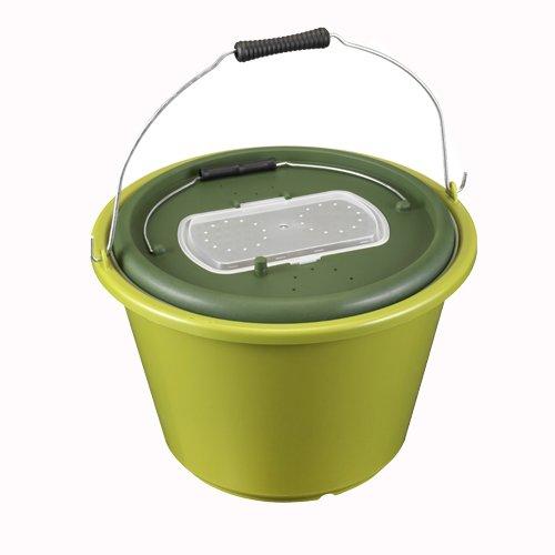 PANARO 116/18 Live Bait Bucket, Olive Green