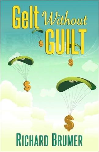 Book Gelt Without Guilt: A novella