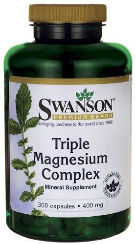 Triple Magnesium Complex 400 mg 300 Caps 2 Bottles For Sale