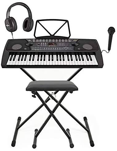 Mk 2000 54 Key Portable Keyboard By Gear4music Complete Pack Amazon Co Uk Musical Instruments