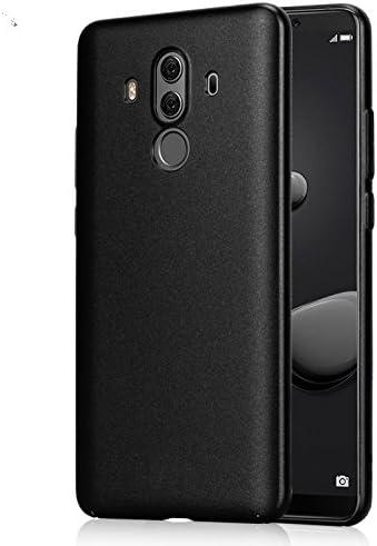 Funda® Firmness Smartphone Funda Carcasa Case Cover Caso + 1 Vaso Pantalla Protector para Huawei Mate 10 Pro/Huawei Mate 10 Porsche(Negro): Amazon.es: Electrónica