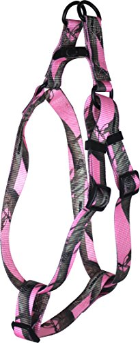 OmniPet Adjustable Step in Pet Harness, Medium, Realtree Pink Camouflage