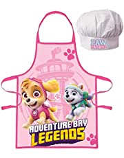 Paw Patrol kookset voor kinderen, kookschort en kookmuts