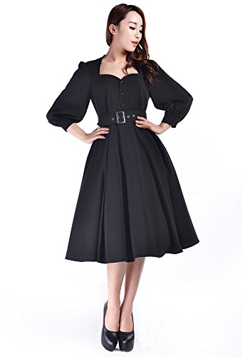 40s film star dress - 1
