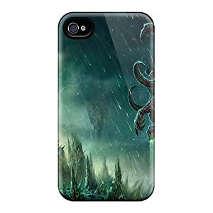 Cute Luoxunmobile333 World Of Warcraft Illidan Cases Covers For Iphone 6