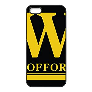 NCAA Wofford Terriers Black Phone Case for iPhone 5S