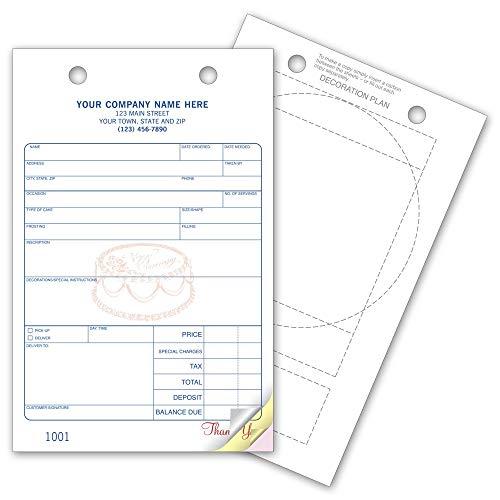 CheckSimple Custom Bakery Register Forms (250 ()