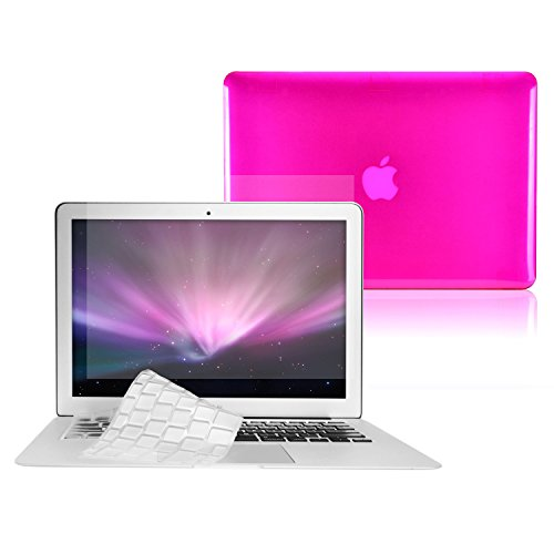 Transparent TPU LCD HOT PINK