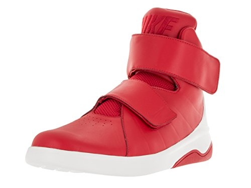 nike marxman mens hi top trainers 832764 sneakers shoes (US 10, university red sail black 600)