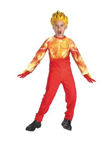 The Human Torch Costume (Human Torch Std 4-6 Child)