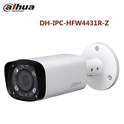 Dahua - Cámara Bullet 4 Mpx IP POE Profesional, Varifocal y con iluminación infrarroja