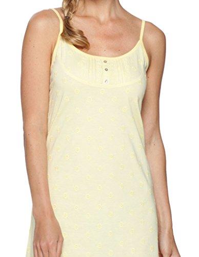 Pastunette Loungewear Dahlia Light Amarillo Cotton Spaghetti Nightdress 90cm 1051-356-0 (300)