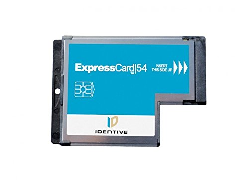 SCM SCR3340 Common Access CAC DoD and Military ID Smart Card SmartCard Reader (ExpressCard interface CCID Compatible) for Vista XP and Linux Laptop Computers - Cac Card Reader For Laptop