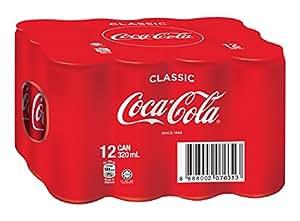 Coca-Cola Original, 330ml (Pack of 12)
