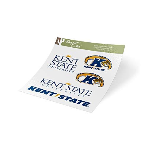 (Kent State University Full Sheet Sticker Vinyl Decal Laptop Water Bottle Car Scrapbook)