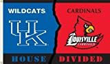 NCAA Kentucky - Louisville 3-by-5 Foot Flag with