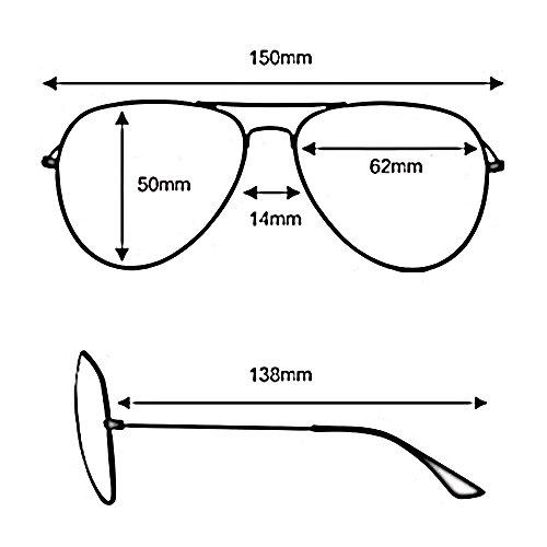 para Gafas Gafas D de sol Neutral Color conducción aviador SSSX UV400 de Gafas polarizadas de sol sol Gafas hombre de sol de A de x7gwa