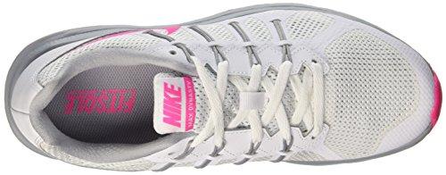 Grey white nement Femme Blast De Entra Air Wmns Nike Max Dynasty wolf pink Multicolore Course FxWUT64xqw