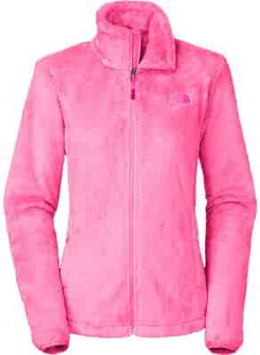 The North Face Women's Osito 2 Jacket (Large, Gem Pink)