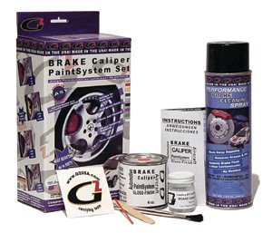 - G2 High Temperature Brake Caliper Paint System Set RED G2160