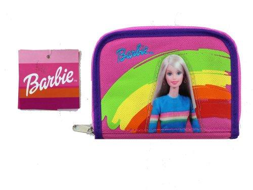 Pink and Purple Barbie Mini Purse Wallet - Girls Purse Wallet ()
