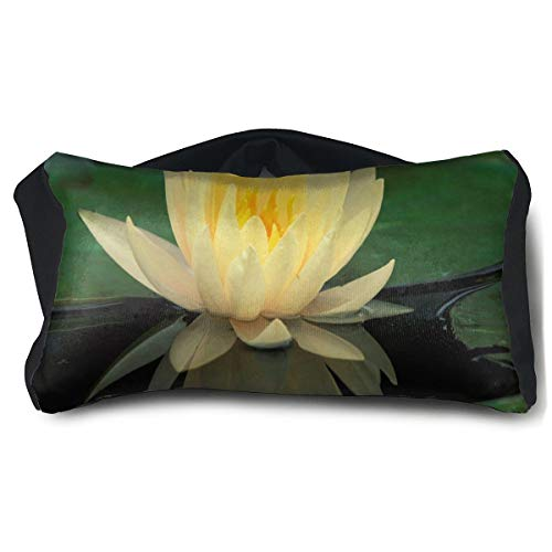 (Eye Pillow Lotus Flowers Yellow Amazing Eye Bag Bed Mens Portable Blindfold Sleeping Protection)