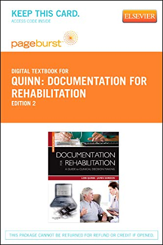 Documentation for Rehabilitation - Elsevier eBook on VitalSource (Retail Access Card): A Guide to Clinical Decision Making