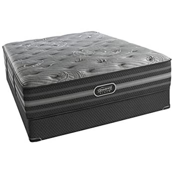 Amazon Com Beautyrest Simmons Black Lydia Luxury Firm