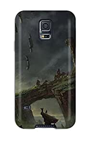 Premium PC Titan Emerging From The Rock Cover Skin Case For Samsung Galaxy S5 Cover