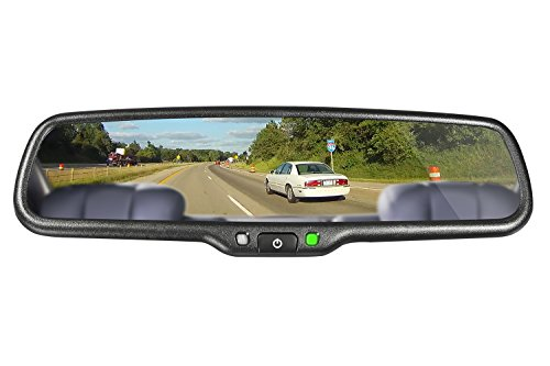 iMirror OEM styled car rear rearview mirror monitor with GPS navigation with iGO map, bluetooth handsfree and backup camera display touch screen by iMirror (Image #5)