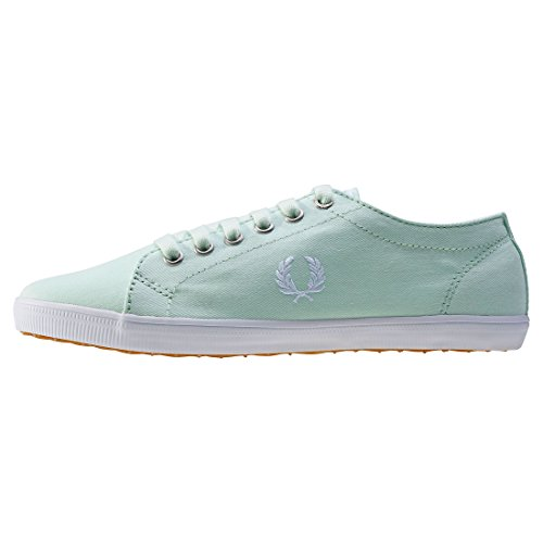 Fred Perry Kingston Twill Dusty Aqua Green