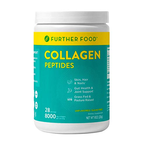 Further Food Collagen Peptides | Premium Grass-Fed, Keto Protein | Hydrolyzed Collagen Powder for Maximum Absorption (28 Servings)