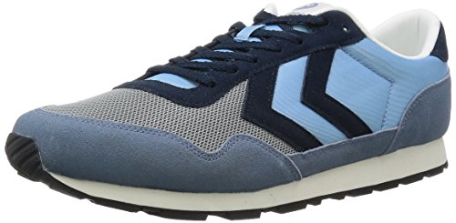 Reflex Hummel Adulte Basses Mixte Nyhavn Blau Blue cool 8601 Baskets Bleu FO4CqO