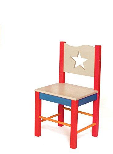Room Magic Star Rocket Desk Chair, Grey