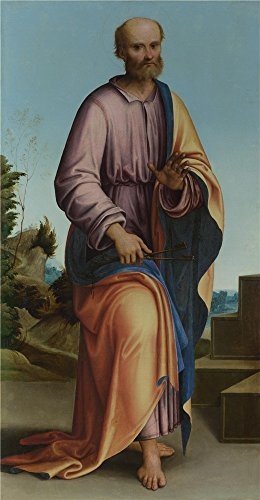Oil Painting 'Lorenzo Costa Saint Peter ' Printing On Perfect Effect Canvas , 8 X 15 Inch / 20 X 39 Cm ,the Best Garage Artwork And Home Artwork And Gifts Is This Vivid Art Decorative Canvas (Deluxe Teen Jason Costume)