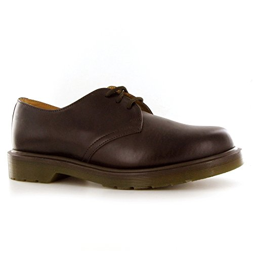 marron Brown Zapatos Hombre Para dark 1461 Dr Marrón Martens Oscuro 0UwEzEq4f