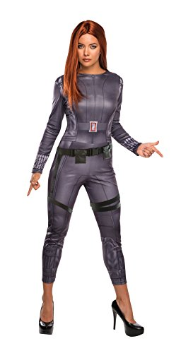Marvel Universe, Captain America: The Winter Soldier, Black Widow Costume, Multicolor, Medium (Sexy Soldier Costumes)